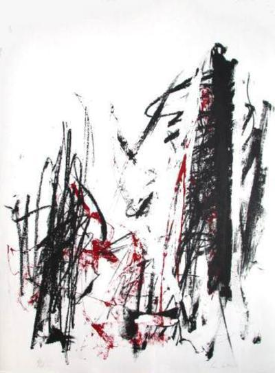 Composition III-Joan Mitchell-Limited Edition