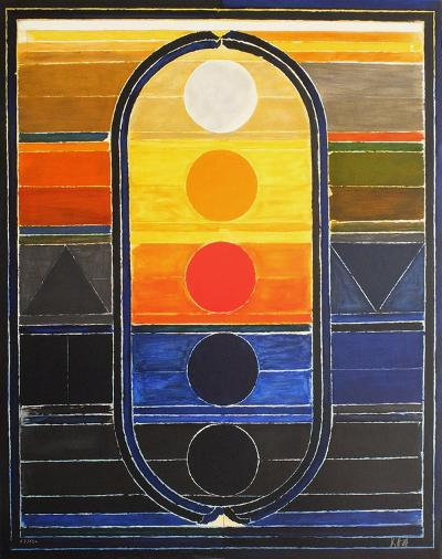 Composition III-Sayed Haider Raza-Limited Edition