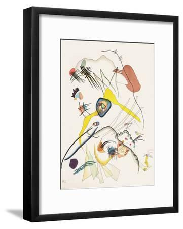 Composition III-Wassily Kandinsky-Framed Premium Edition