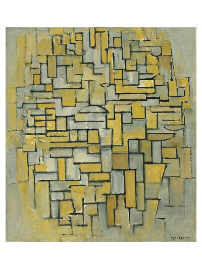 Composition in Brown-Piet Mondrian-Art Print