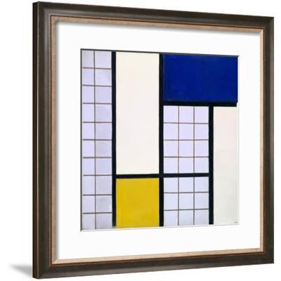 Composition in Half-Tones, 1928-Theo Van Doesburg-Framed Giclee Print