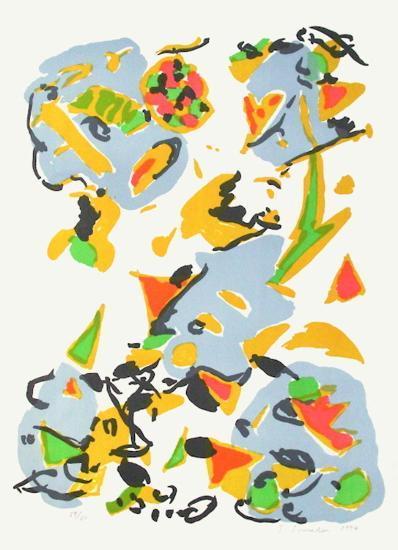 Composition IV-Shizu Shimada-Collectable Print
