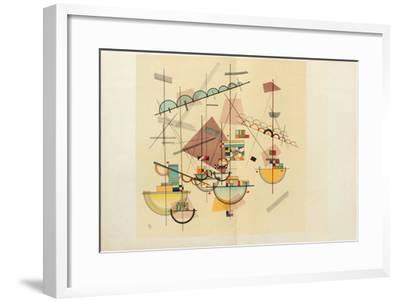 Composition IV-Wassily Kandinsky-Framed Premium Edition