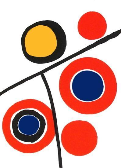 Composition IV-Alexander Calder-Premium Edition