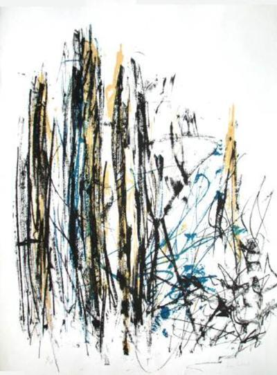 Composition IV-Joan Mitchell-Limited Edition