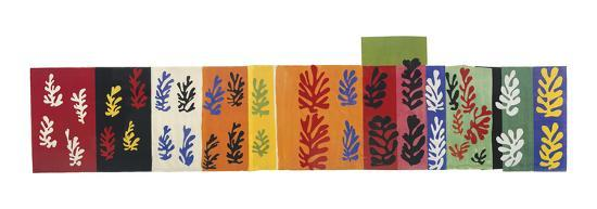 Composition (Les Velours), 1947-Henri Matisse-Art Print