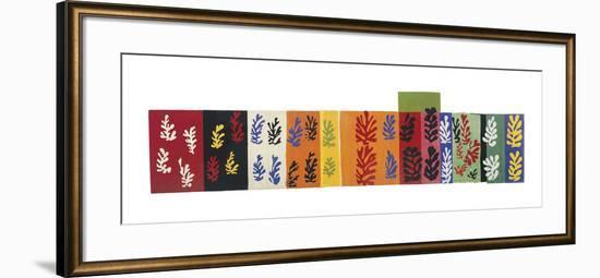 Composition (Les Velours), 1947-Henri Matisse-Framed Art Print