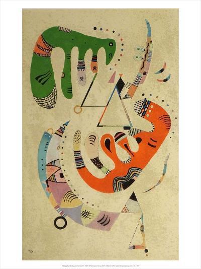 Composition ll, 1922-Wassily Kandinsky-Art Print