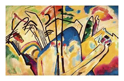 Composition no.4, 1911-Wassily Kandinsky-Premium Edition
