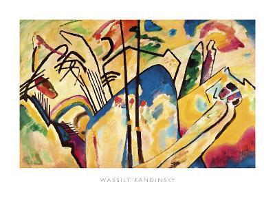 Composition no.4, 1911-Wassily Kandinsky-Art Print