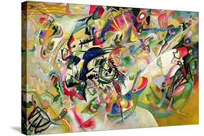 Composition No. 7-Wassily Kandinsky-Stretched Canvas Print