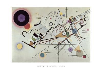 Composition no.8, 1923-Wassily Kandinsky-Art Print