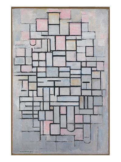 Composition No. IV-Piet Mondrian-Art Print
