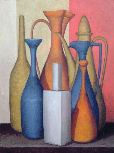 Composition of Vessels, Varying Tones-Brian Irving-Giclee Print