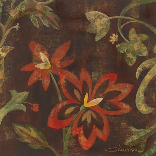 Composition on Umber II-Silvia Vassileva-Art Print