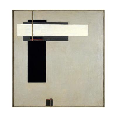Composition Proun GBA 4, c.1923-El Lissitzky-Giclee Print