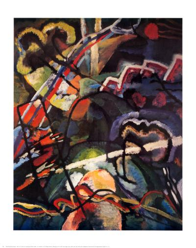 Composition Storm-Wassily Kandinsky-Art Print