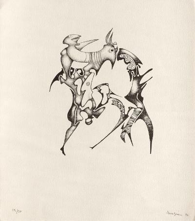 Composition Surr?aIIste X-Jules Perahim-Limited Edition