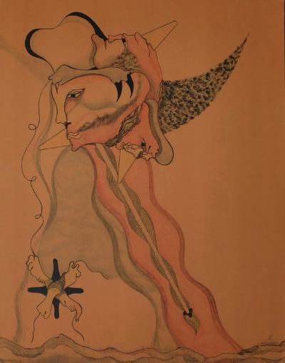Composition Surrealiste I-Jorge Camacho-Premium Edition