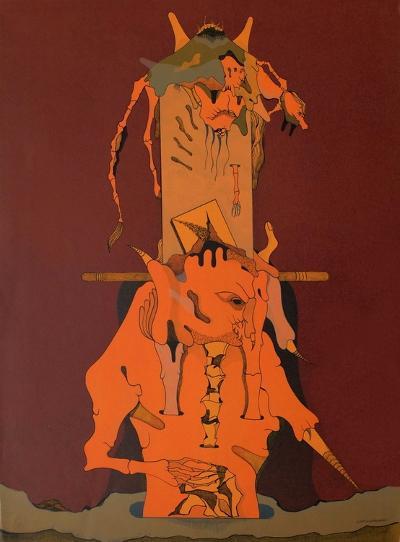 Composition Surrealiste II-Jorge Camacho-Premium Edition
