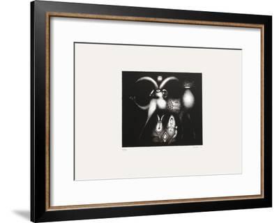Composition Surrealiste VII-Jules Perahim-Framed Limited Edition