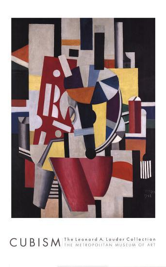 Composition (The Typographer)-Fernand Leger-Collectable Print