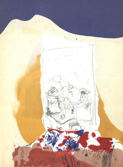 Composition V-171-Paul Rebeyrolle-Art Print
