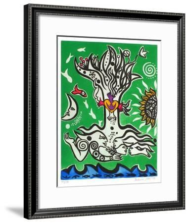 Composition V-Federica Matta-Framed Limited Edition