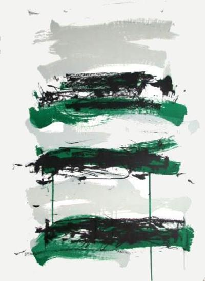 Composition V-Joan Mitchell-Limited Edition