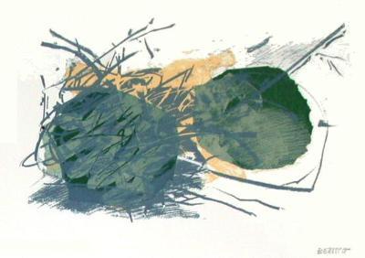 Composition VI-Fran?oise Bertsch-Collectable Print