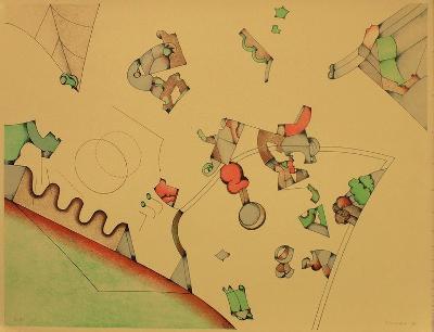 Composition VI-Sizu Simada-Limited Edition