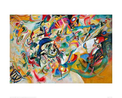 Composition VII, 1913-Wassily Kandinsky-Giclee Print
