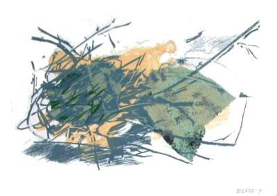 Composition VII-Fran?oise Bertsch-Collectable Print
