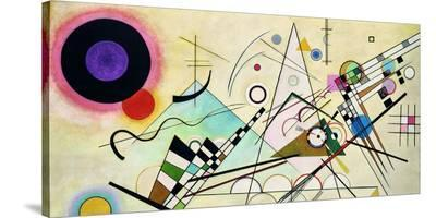 Composition VIII (detail)-Wassily Kandinsky-Stretched Canvas Print