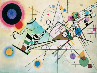 Composition VIII-Wassily Kandinsky-Giclee Print