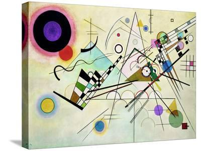 Composition VIII-Wassily Kandinsky-Stretched Canvas Print