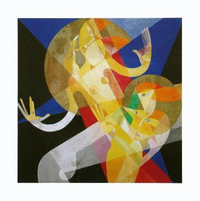 Composition with Two Nudes, c.1925-Marianne Ullmann-Art Print