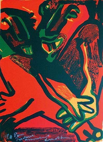 Composition XI-Bengt Lindstroem-Limited Edition