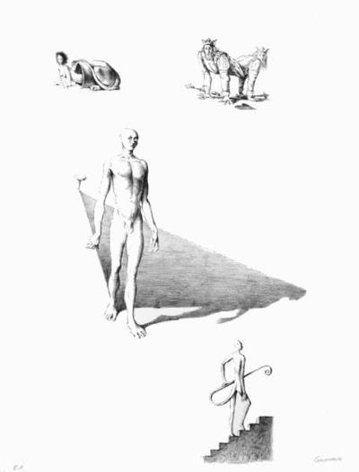 Composition-Jean Gourmelin-Collectable Print