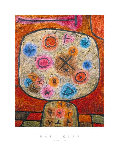 Composition-Paul Klee-Giclee Print