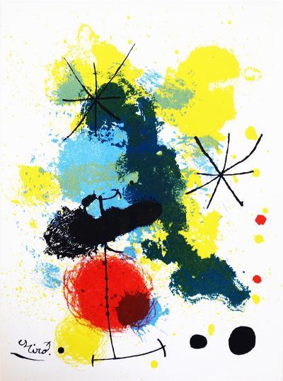 Composition-Joan Miro-Art Print