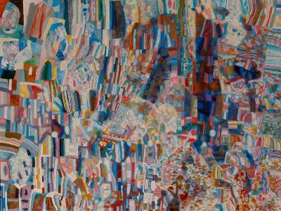 Composition-Pavel Nikolayevich Filonov-Giclee Print