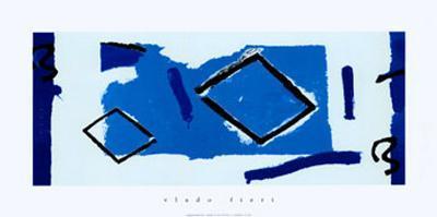 Composizione Blu-Vlado Fieri-Art Print
