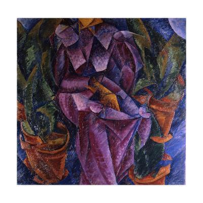 Composizione Spiralica, 1913-Umberto Boccioni-Giclee Print