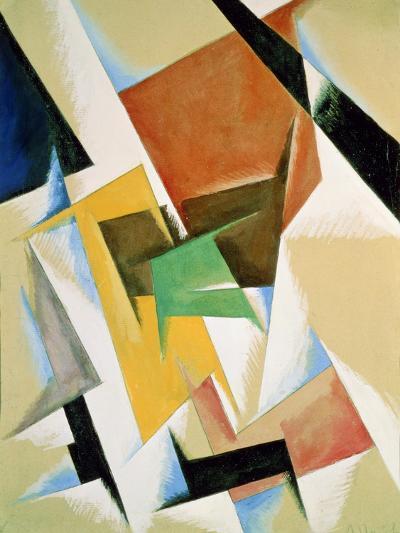 Compostion, 1921-Liubov Sergeevna Popova-Giclee Print