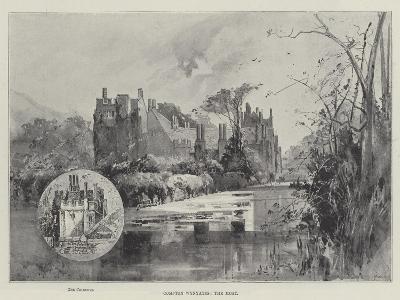 Compton Wynyates, the Moat-Herbert Railton-Giclee Print