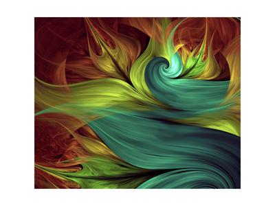 Computer Generated Fractal Artwork-Stocklady-Art Print