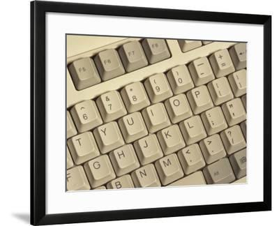 Computer Keyboard, Washington, USA-Jamie & Judy Wild-Framed Photographic Print