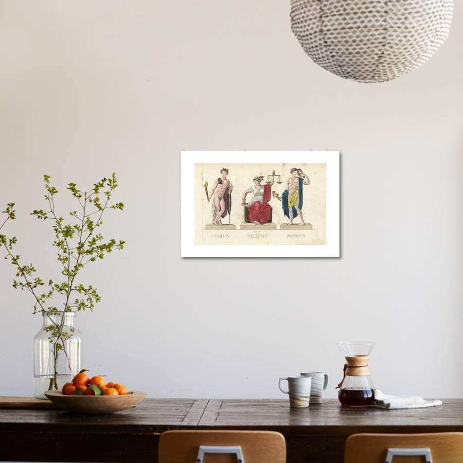Comus themis and momus greek gods giclee print by leonard defraine comus themis and momus greek gods giclee print by leonard defraine art publicscrutiny Image collections