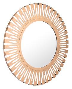 Conall Round Mirror Gold